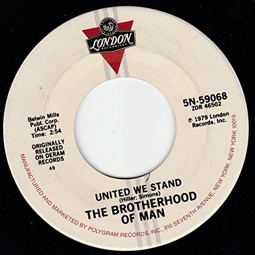45vinylrecord United We Stand/My Baby Loves Lovin (7