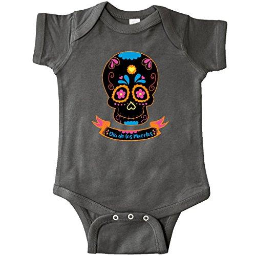 inktastic - Day of The Dead Skull BLK Infant Creeper Newborn Charcoal Grey 2d0dd]()