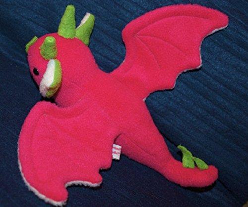 plush bat Plushie toy FruitBat Bat Fruit Bat fruit Fruit Bat - Dragonfruit