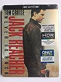 JACK REACHER: NEVER GO BACK 4K UHD Blu-ray Disc Steelbook - Best Buy Exclusive