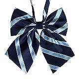 Lovely Sweet School Uniform Bow Tie Waiter Overalls Collar Flower Accessories #4