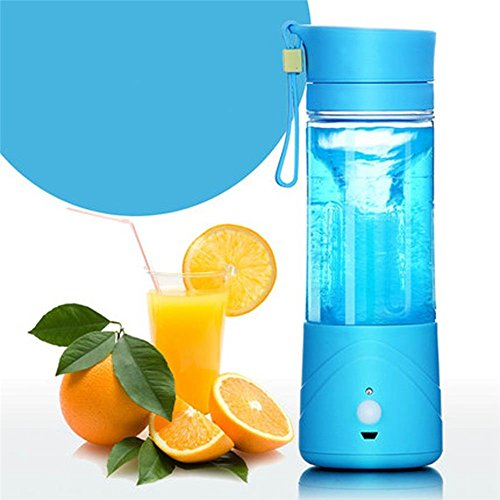 [Angelwing Electric Fruit Juicer Machine Smoothie Maker Blender Shake Mini Portable USB Rechargeable] (Angel Costume Tumblr)