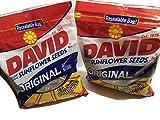 David Seeds Sunflower 14.5oz Resealable Bag 2pc
