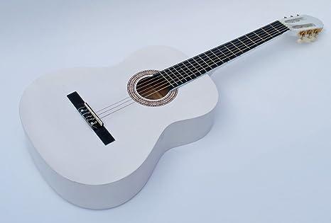 Cherrystone 141 - Guitarra de concierto clásica 4/4, blanco