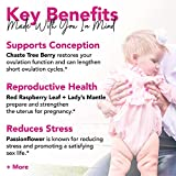 Pink Stork Fertility Tea: Sweet Mint, Red Raspberry