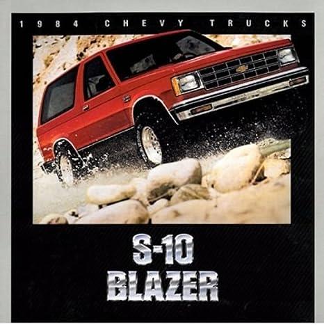1984 Ford Bronco II 16-page BIG SIZE Car Sales Brochure Catalog