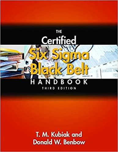 Buy The Certified Six Sigma Black Belt Handbook, 3rd Edition, (With ...