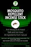 Citronella Mosquito Repellent Incense Sticks by Premilita Healthcare Natural-Harmless Plant Based Insect Protection-Keep Bugs Away 20 sticks