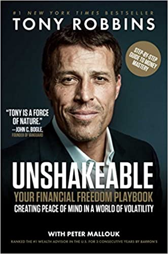 Unshakeable: Your Financial Freedom Playbook by Tony Robbins Free PDF Download, Read Ebook Online