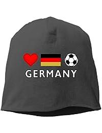 Germany Football German Soccer Unisex Knit Hat Soft Stretch Beanies Skull Cap Hedging Cap Black