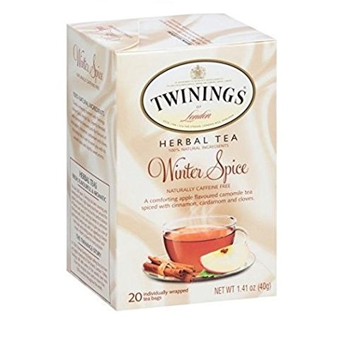 Twinings Herbal Tea, Winter Spice, 20 Count