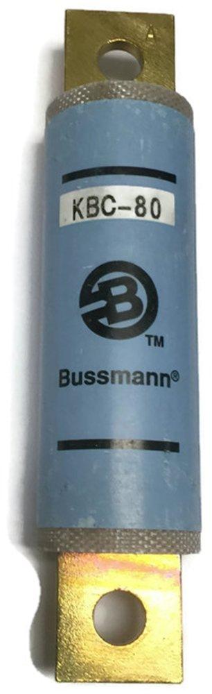 Bussmann KBC-80, 80Amp 600V Cartridge Blade Fuse