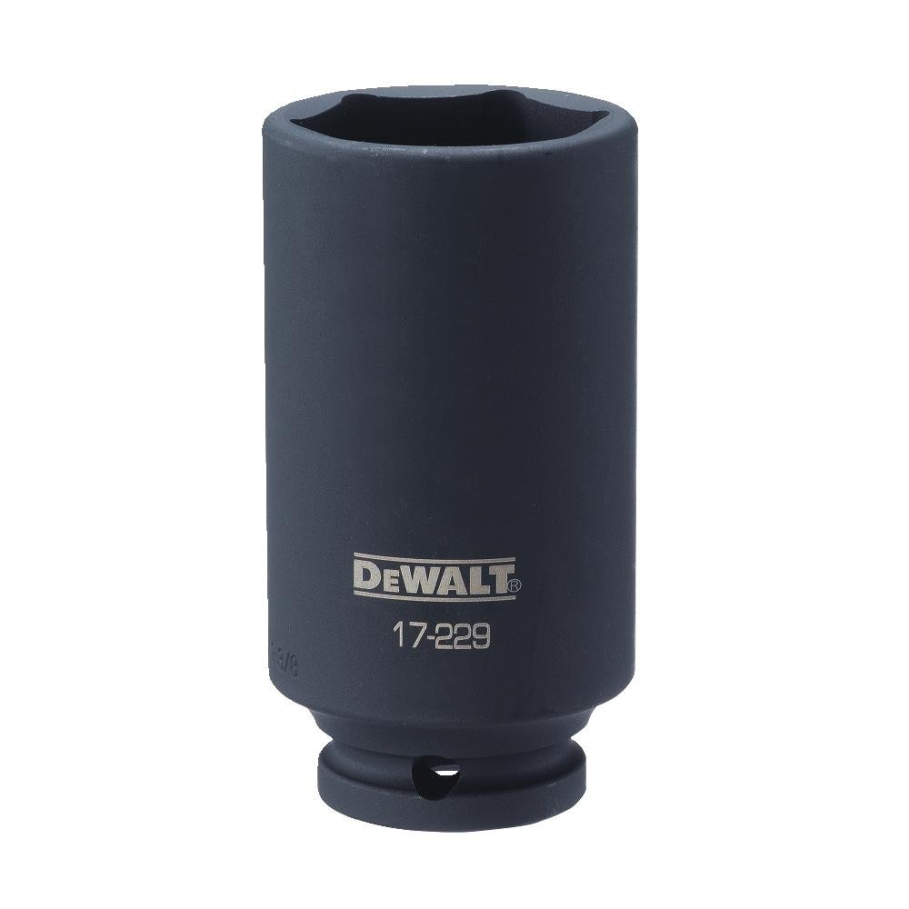 DEWALT 1/2'' Drive Socket Deep Impact 6PT 1 3/8