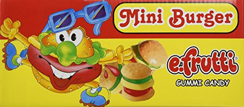 - Gummy Burgers - Mini Gummi Burger (approximately 60 pieces)