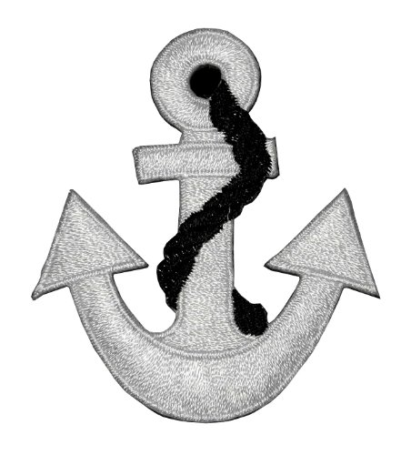 Anchor-Marine-Sailor-Naval-DIY-Applique-Embroidered-Sew-Iron-on-Patch-AC-005