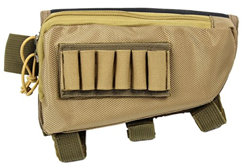 Tactical Sharpshooter Rifle Stock Pack | (Tan) for sale  Delivered anywhere in USA