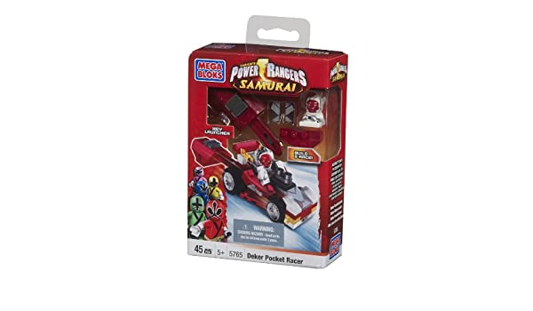Mega Bloks Power Rangers Deker Pocket Racer: Amazon.es ...
