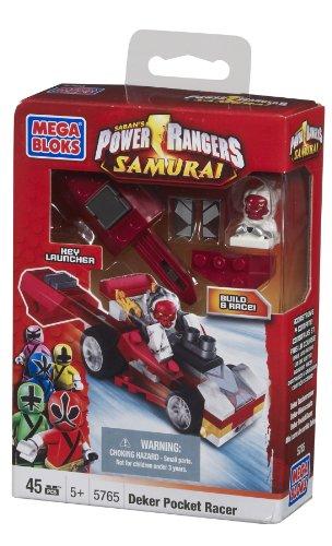 Mega Bloks Power Rangers Deker Pocket Racer (Pocket Racer)