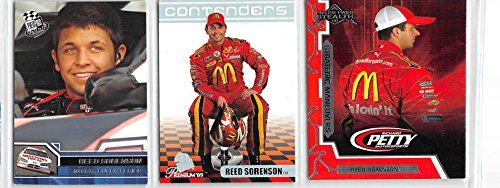 Reed Sorenson - NASCAR Racing Card Lot - 3 Cards (A)