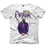 Search : Pro Wrestling Tees Adult Mens/Unisex CM Punk The The Harlequin of Hate HQ Basic Tee - White