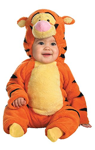 Toddler Deluxe Tigger Costumes (Deluxe Tigger Costume - Baby 12-18)