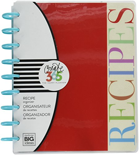 Me & My Big Ideas PLNT-02 Create 365 Recipe Planner