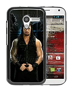 For Moto X,Wwe Superstars Collection Wwe 2k15 Roman Reigns 14 Black Protective Case For Moto X