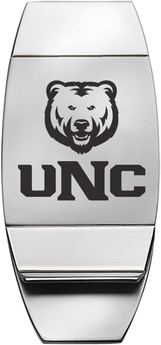 LXG, Inc. University of Northern Colorado - Two-Toned Money Clip - Silver