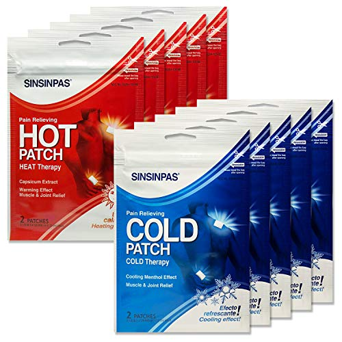 (SINSINPAS Hot Patch (10 Mixed Pack, (20 Patches)