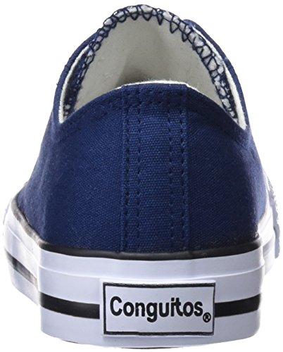 Conguitos Basquet Lona, Zapatillas Unisex Niños Azul (Marino)