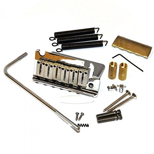 Fender American Series Stratocaster Tremolo Bridge Assembly - Chrome by Fender (Image #1)