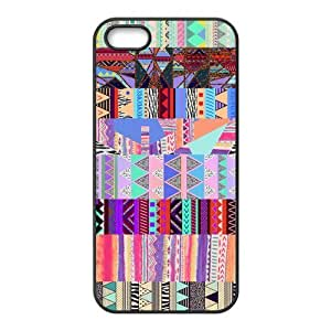 Custom Aztec Tribal Pattern Back Cover Case for iphone5,5S JN5S-367