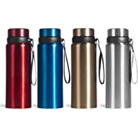 LuKe Double-Walled Stainless Steel Travel Mug,Vacuum Insulated Water Bottle with Flip Top Lid, Perfect for Camping, Driving, Picnics, Gym, BPA Free, Keeps Drinks Cold or Hot for 16+ Hours 25oz