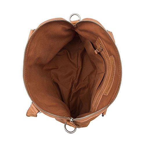 COWBOYSBAG Damen Tasche Henkeltasche Bag Carfin Tobacco 1645