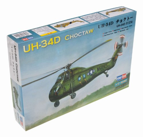 Hobby Boss American UH-34D Choctaw Airplane Model Building Kit