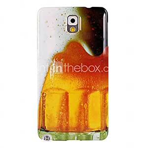 New Beer Bubble Pattern Hard Case for Samsung Galaxy Note 3 N9000
