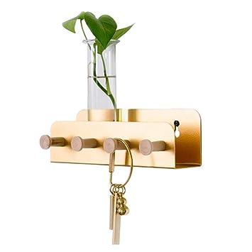 FFF-Coat rack Toalla de bambú para Colgar Perchero de ...