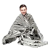 Sporting Style Outdoors82 X 62'' Extra Large Emergency Survival Space Mylar Blanket - Essentials for Marathons, Camping, Outdoors and Natural Disaster(10-pack)