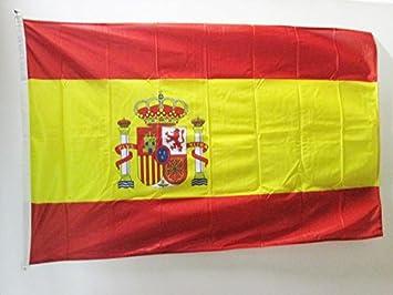 AZ FLAG Bandera de ESPAÑA 150x90cm Uso Exterior - Bandera ESPAÑOLA 90 x 150 cm Ojales: Amazon.es: Hogar