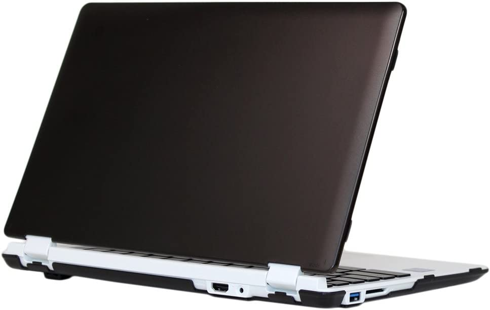 "mCover Black Hard Shell Case for 11.6"" Acer Chromebook 11 CB3-131 or CB3-132 (Acer NX.GR3EK.001) Series with IPS HD Display Laptop ONLY (Model:CB3-131/CB3-132)"