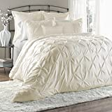 Lush Decor Lux 6-Piece Comforter Set, Queen, Ivory Review and Comparison