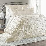 Lush Decor Lux 6-Piece Comforter Set, Queen, Ivory - Best Reviews Guide