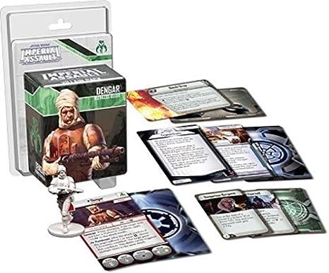 Imperial Assault: Dengar Villain Pack: Fantasy Flight Games: Amazon.es: Juguetes y juegos