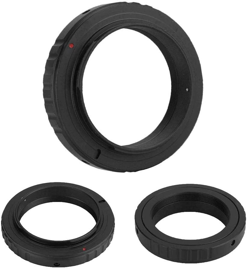 Bewinner Camera Adapter,T2-OM Telescope Reversing Lens T2 for 4//3 Adapter Ring for Olympus E-600 E-510 E-500 E-450 E-5,Easy to Use and Portable,Convenient to Carry and Store