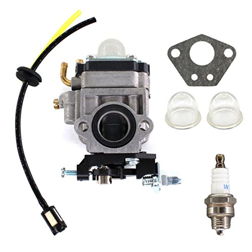 USPEEDA Carburetor Carb for X1 X 2 X3 X 7 R1 FS509 FS529 Gas 43CC 49CC Pocket Bike GS Moon Motovox MVS10 13218 Fuel Line Filter Grommet Kit (X7 Parts Pocket Bike)