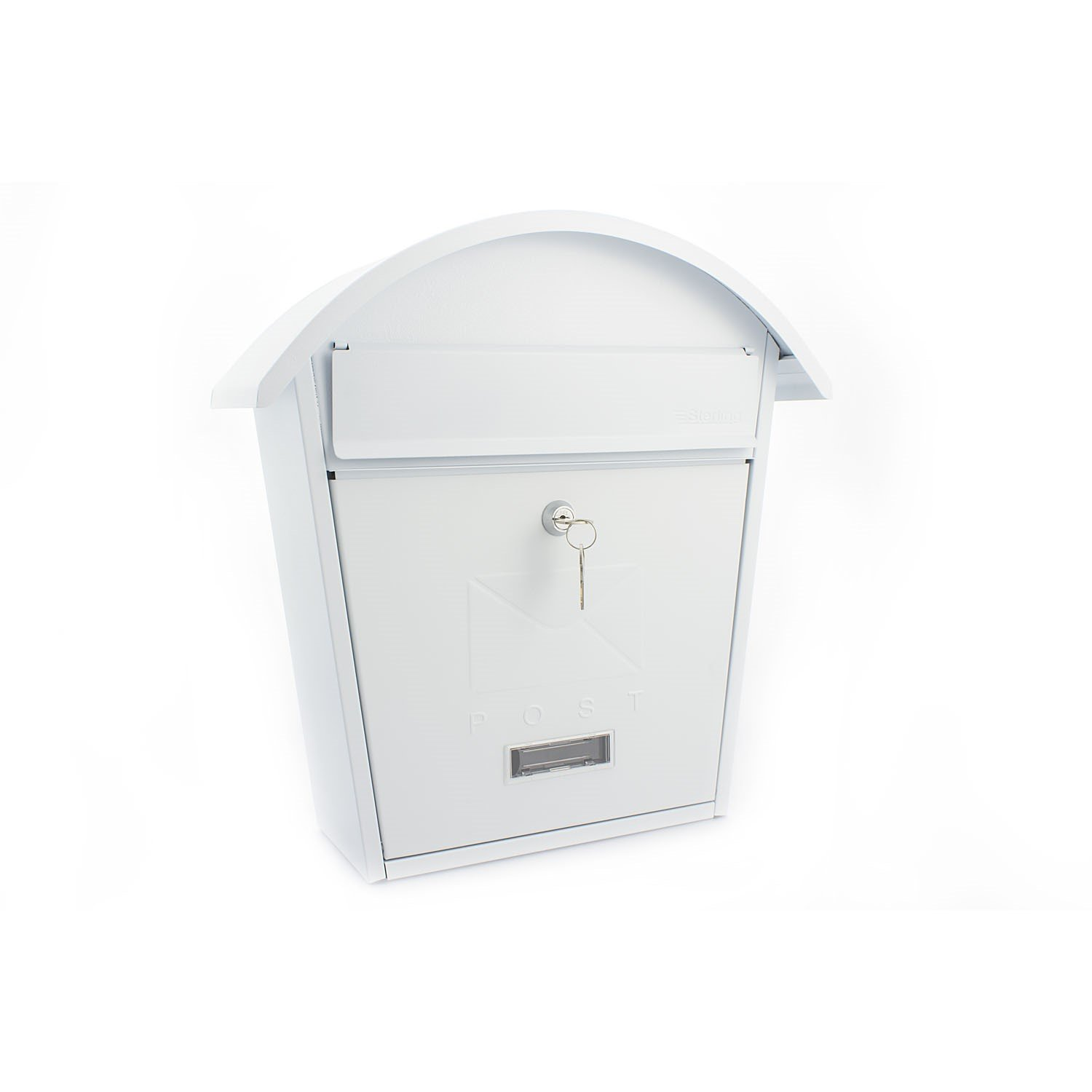 Sterling Classic Post Box - Black Sterling Locks MB01BK
