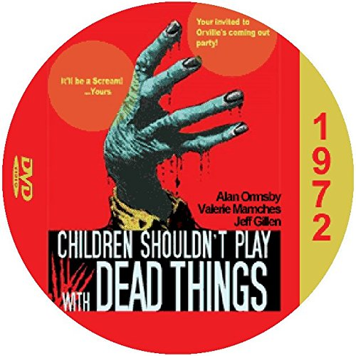 Children Shouldnt Play with Dead Things (1972) Classic Sci-fi and Horror Movie DVD-R