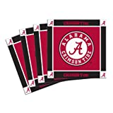 NCAA Alabama Crimson Tide 4-Pack Ceramic Coasters