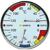 Sauna de Madera de termómetro e higrómetro modelo