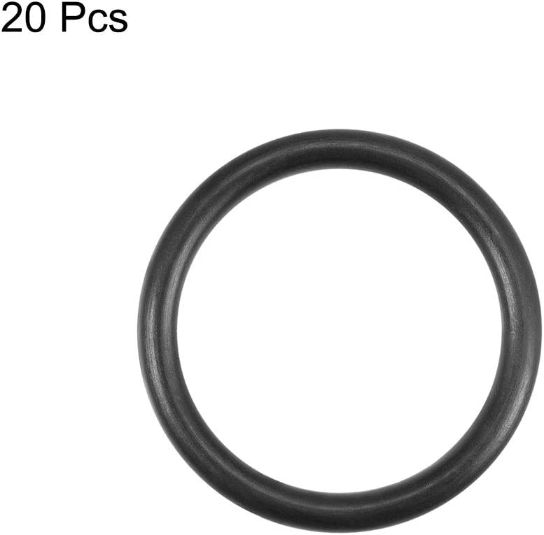 032 Buna//NBR Nitrile O-Ring 70A Durometer Black 500 Pack Sterling Seal and Supply